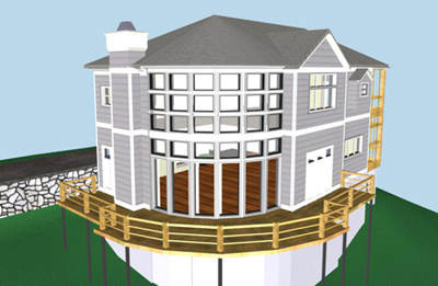 Screenshot from 3D Architectural Model
